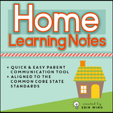 Home Learning Notes