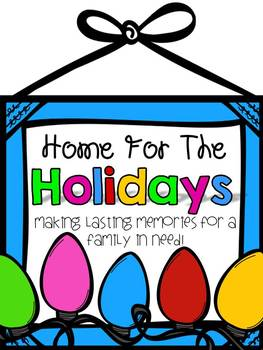 Home for the Holidays {Fundraiser}