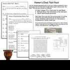 Homer's Iliad Test Pack