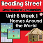 Homes Around the World SmartBoard Companion Reading Street
