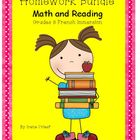 Homework Bundle - Mathematics and Reading - Grade 3 French