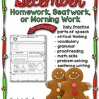 Homework Helpers for December