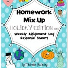 Homework Mix-Up - Holiday 2012 Edition - Assignment Log Re