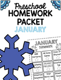 Homework Packet- January