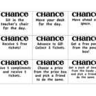 Homeworkopoly Chance and Community Lunchbox cards FREE