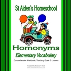 Homonyms for Elementary Learners