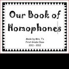 Homophone Classbook