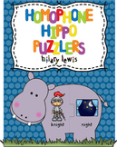 Homophone Hippo Puzzlers-2 Levels of Learning Fun