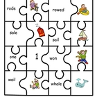 Homophone Jigsaw Activity