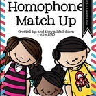 Homophone Match Up {CCS aligned}