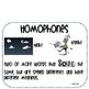 Homophones Activities-Hands-on and Writing