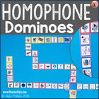 Homophones Dominoes Matching Game