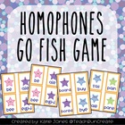 "Homophones ""Go Fish"" game"