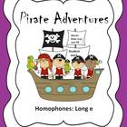 Homophones: Long e Pirate Adventures