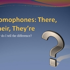 Homophones Power Point