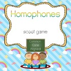 Homophones Scoot- Common Core Aligned