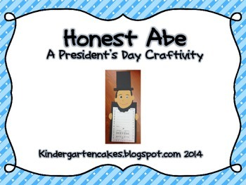Honest Abe: A President's Day Craftivity