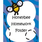 Honeybee Homework Folder