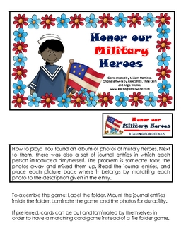 Honor our Military Heroes