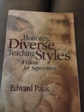 Honoring Diverse Teaching Styles -- Used Book