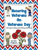 Honoring Veterans on Veterans' Day: Reading and Writing Unit: 2-3