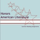 Honors English III: American Literature Summer Reading Ass