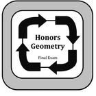 Honors Geometry:  2nd Semester Exam