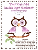"""Hoo"" Can Add Double Digit Numbers? (Without Regrouping)"