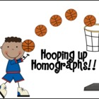 Hooping Up Homographs!! for 3rd Grade!