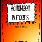 Hooray for Halloween Borders!