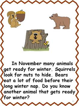 Hooray for November Celebrations: ELA CCSS K-2