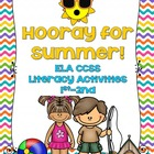 Hooray for Summer Word Work Activities Grades 1-2