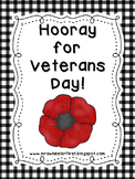 Hooray for Veterans Day!  A Mini Language Pack