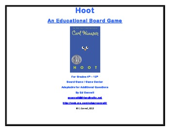 Hoot Board Game