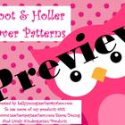 Hoot &amp; Holler Over Patterns for ActivBoard