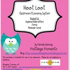 Hoot Loot Classroom Economy Packet 2