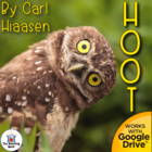 Hoot Novel Unit ~ Common Core Standards Aligned!