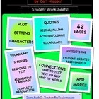 Hoot Student Worksheets