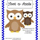 Hoot -n- Annie - An Anagram Game