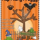 Hop Along Halloween Frog: Count By Fives
