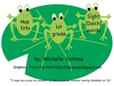 Hop Into 1st grade sight(dolch) words