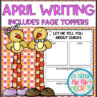 April...Crafts and Activities...Hop In