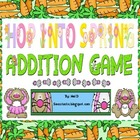 Hop Into Spring Addition Game