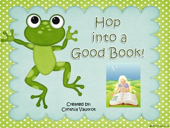 Hop Into a Good Book Reading Banner - **FREEBIE**