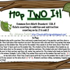 Hop TWO It! {Common Core Standard: 1.OA.5 Counting on by 2