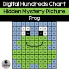 Hopping Fun Frog Hundreds Chart Hidden Picture for Math an
