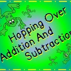 Hopping Over Addition and Subtraction - Electronic Flashcards