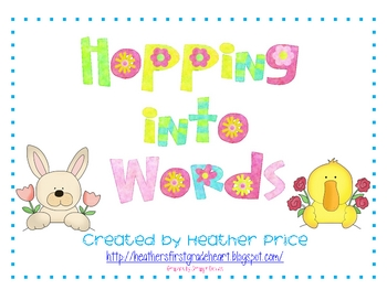 Hopping into Words