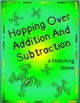 Hopping over Addition and Subtraction - Matching Game