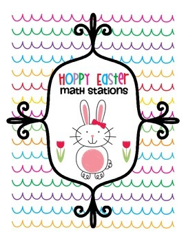 Hoppy Easter Math Stations